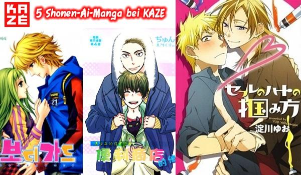"""""""5 Shades of Pink"""" Manga Programm bei KAZÉ!"""
