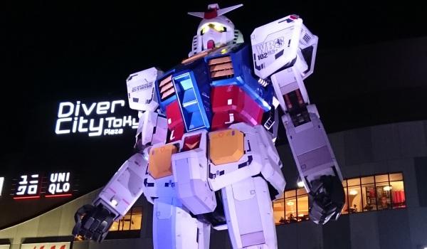 Japanreise 2015 - AnimeRadio.de aus Tokyo - Tag 7 von 10 (Odaiba + Gundam)
