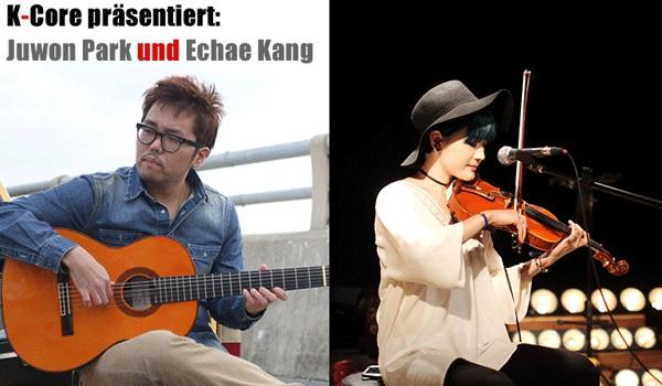 K-Konzert mit Juwon Park und Echae Kang im August 2016