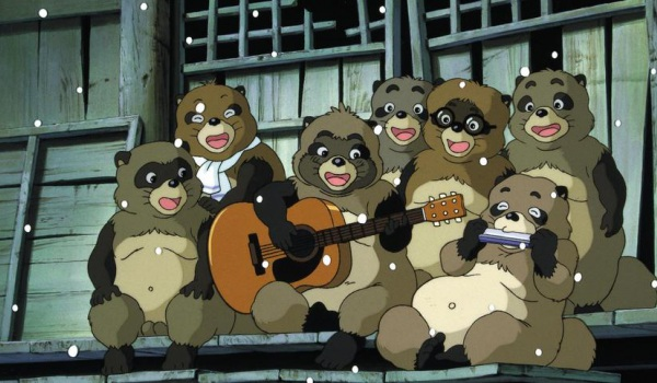 Pom Poko in der Studio Ghibli Blu-ray Collection