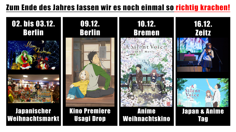 Unsere Events im Dezember