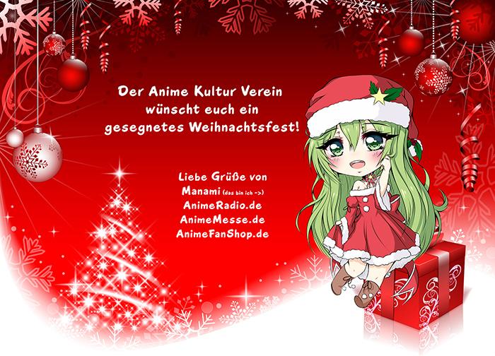 Frohe Weihnachten Euch Allen.Frohe Weihnachten 2017 Animeradio De Animetreff De