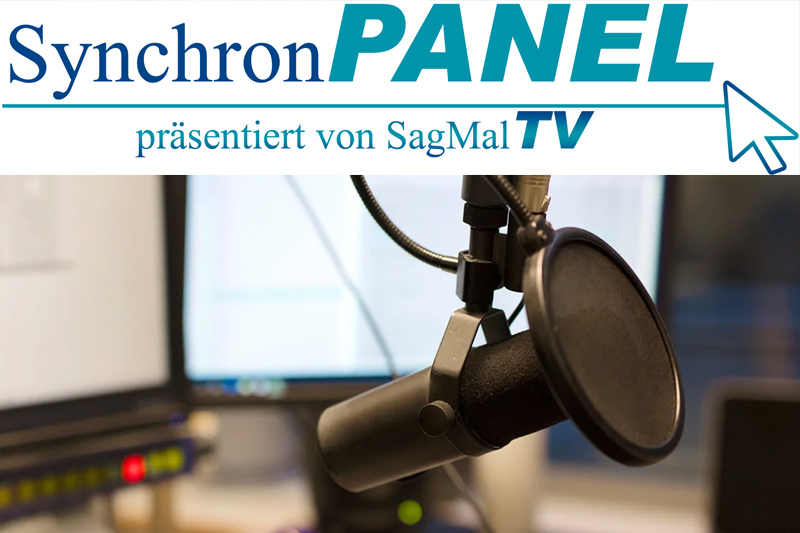 Das Synchronsprecher Panel von SagMalTV