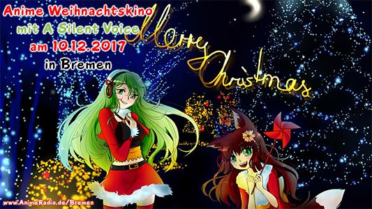 Anime-Weihnachtskino mit A Silent Voice in Bremen