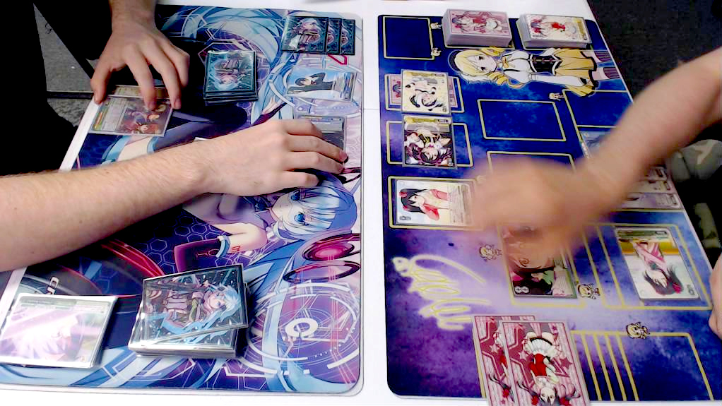Weiß/Schwarz Kartenspiel